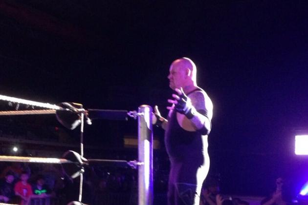 Breaking News: The Undertaker Returns to WWE, Wrestles at House Show