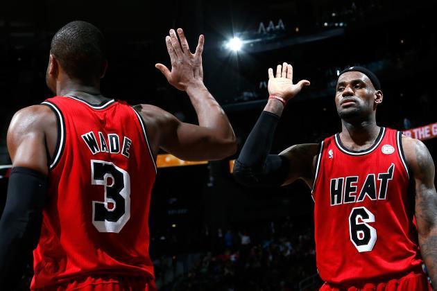 LeBron James, Dwyane Wade Power Miami Heat Past Philadelphia 76ers