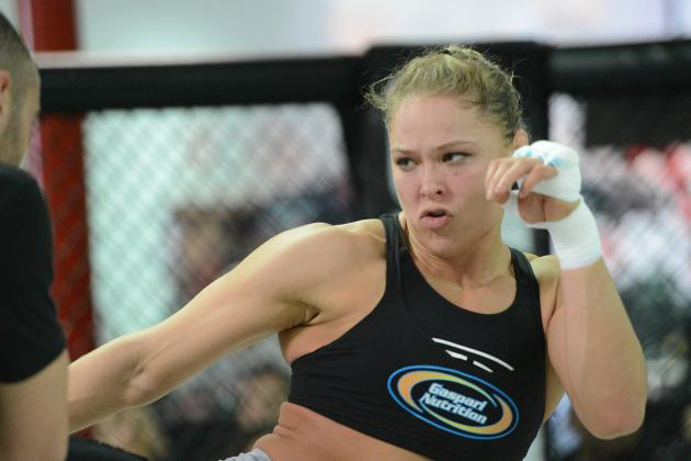 Ronda Rousey vs. Liz Carmouche Results: Win Sets Rowdy Up for Bigger Fights