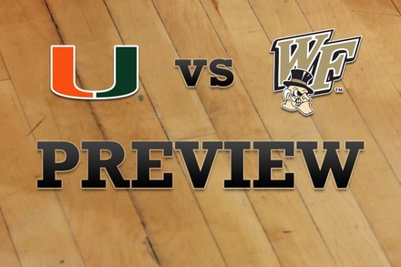 Miami vs. Wake Forest: Full Game Preview