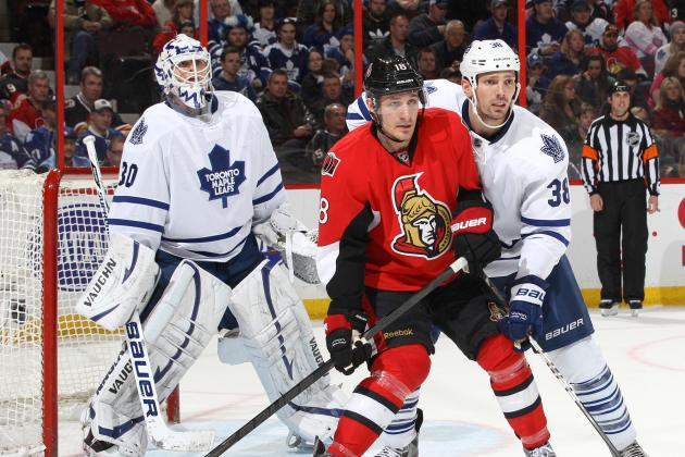 Greening Shines in Senators' 3-2 Battle of Ontario Win over Leafs