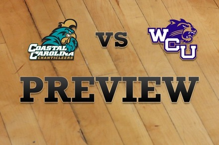 Coastal Carolina vs. Western Carolina: Full Game Preview