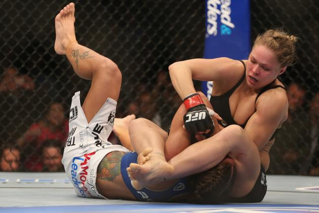Rousey vs. Carmouche: Rowdy's Struggles Show Blueprint for Future Opponents