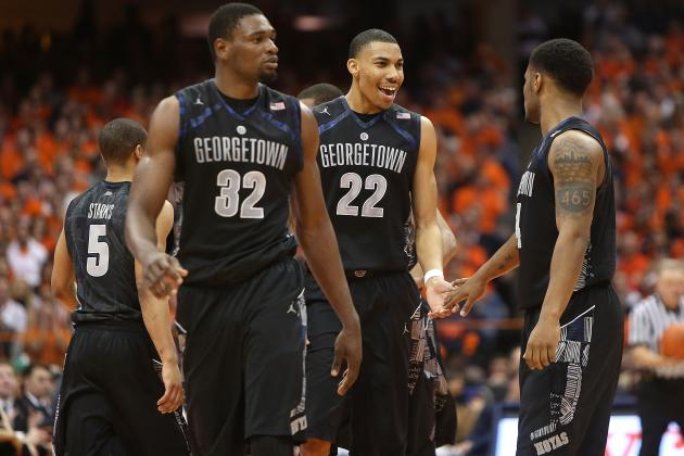 Georgetown Ends Syracuse's 38-Game Home Win Streak