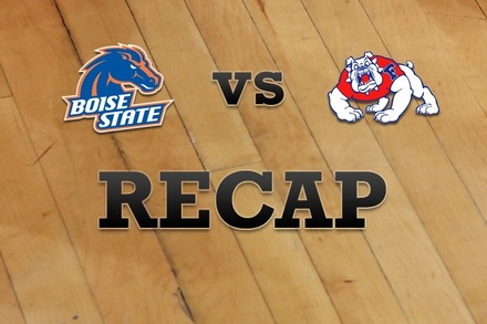 Boise State vs. Fresno State: Recap, Stats, and Box Score