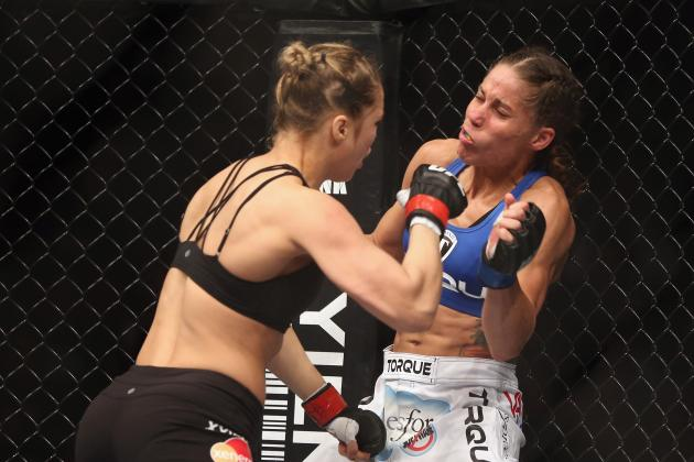 Ronda Rousey vs. Liz Carmouche: Title Fight Shows Big Things on Horizon for WMMA