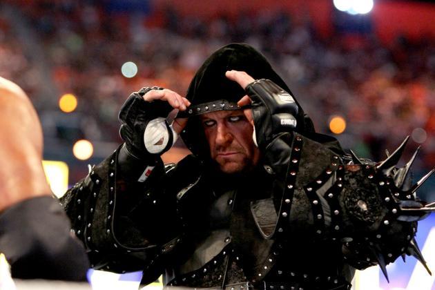 Undertaker's WWE Return Means the Official Start of WrestleMania Season