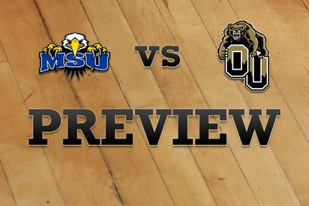 Morehead State vs. Oakland: Full Game Preview