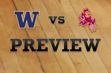 Washington vs. Arizona State: Full Game Preview