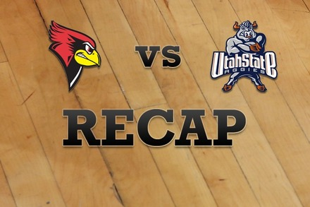Illinois State vs. Utah State: Recap, Stats, and Box Score