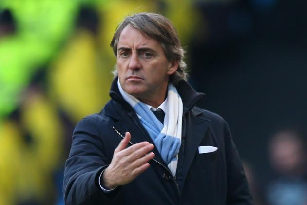 Roberto Mancini Believes Manchester United Have Been Lucky This Season