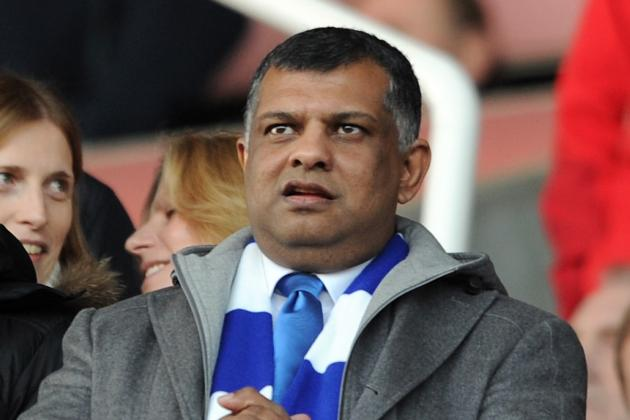 Tony Fernandes Says He and Harry Redknapp Are in It for Long Haul at QPR