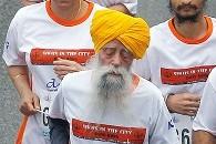 Singh, 101, Caps Career with 10K in Hong Kong