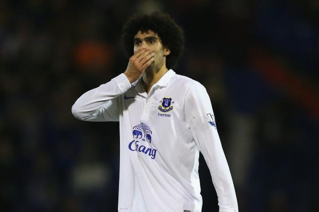 Evertons Marouane Fellaini Believes It Is Normal to Want to Join Chelsea