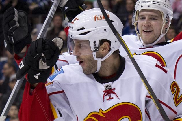 Flames Score Two Goals in Third to Fend off Wild