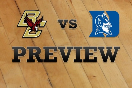 Boston College vs. Duke: Full Game Preview