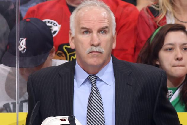 Coach Joel Quenneville Deserves a Lot of Credit for 'Hawks Fast Start