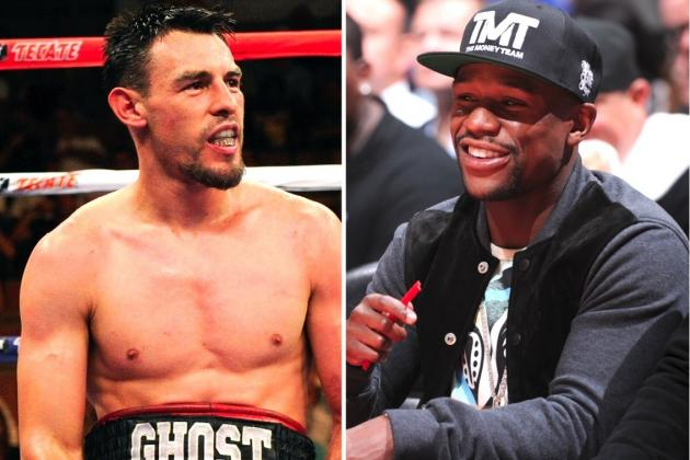 Robert Guerrero Trash Talks Floyd Mayweather on Twitter