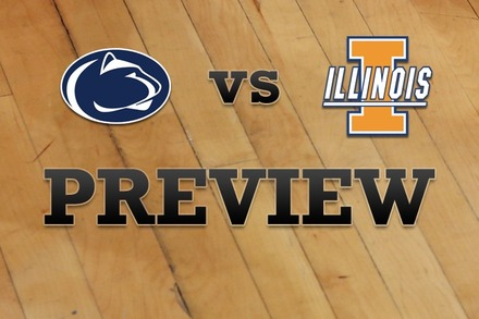 Penn State vs. Illinois: Full Game Preview