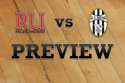 Radford vs. Siena: Full Game Preview