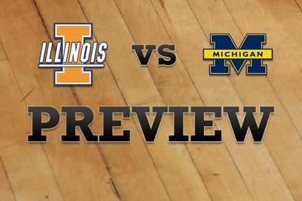 Illinois vs. Michigan: Full Game Preview