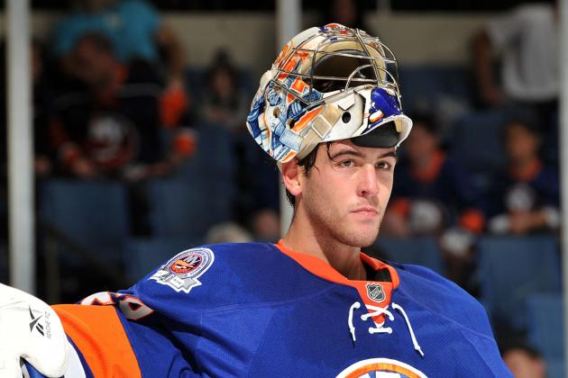 New Islanders Backup Poulin Gets Call to Start Tonight