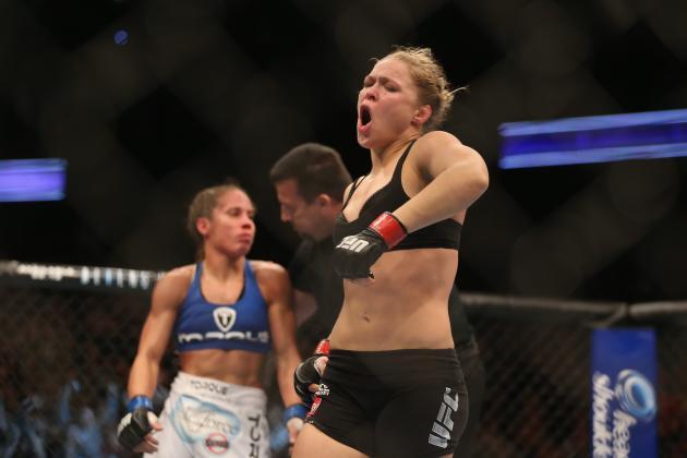 Ronda Rousey vs. Liz Carmouche: Armbar Specialist Cements Status as UFC Megastar