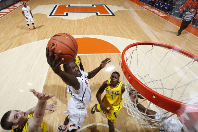 No. 7 Michigan Surges in 2nd Half to Top Illinois