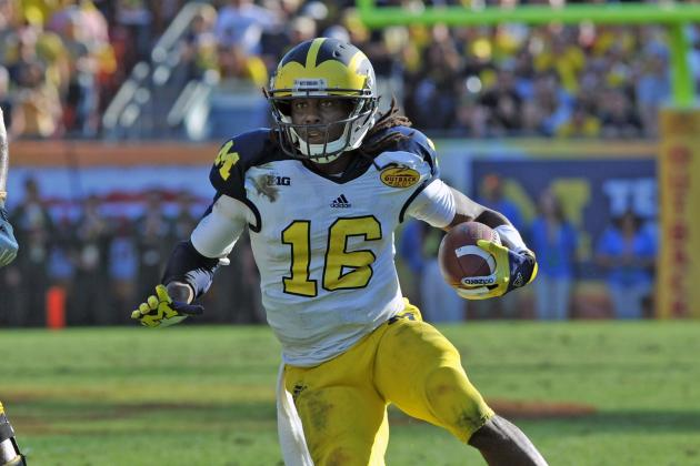 Denard Robinson NFL Combine: Former QB Worth Risk As Mid-Round WR