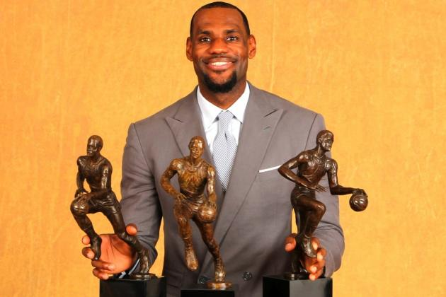 Predicting How Many MVPs LeBron James Will Win in His Career