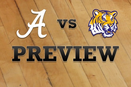 Alabama vs. LSU: Full Game Preview