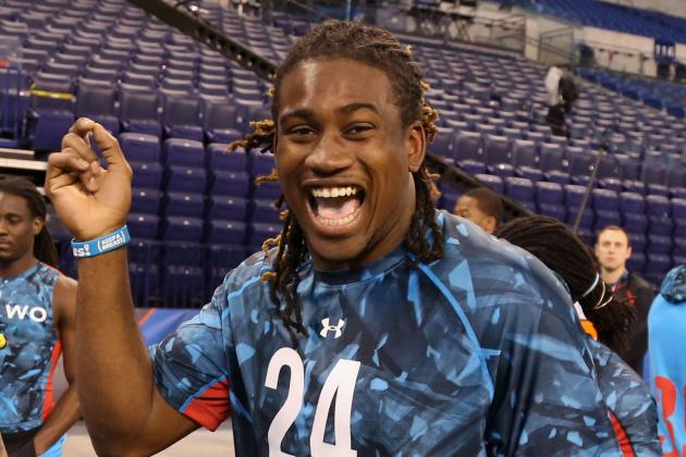 NFL Combine 2013: Most Impressive Athletes from First 2 Days in Indy