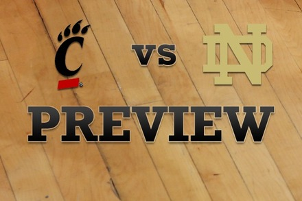 Cincinnati vs. Notre Dame: Full Game Preview