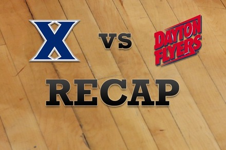 Xavier vs. Dayton: Recap, Stats, and Box Score