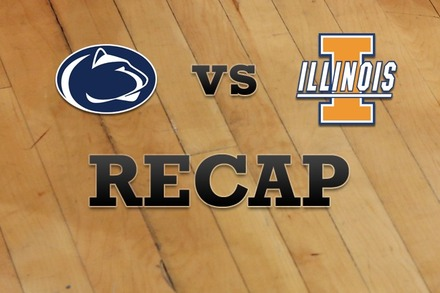 Penn State vs. Illinois: Recap, Stats, and Box Score