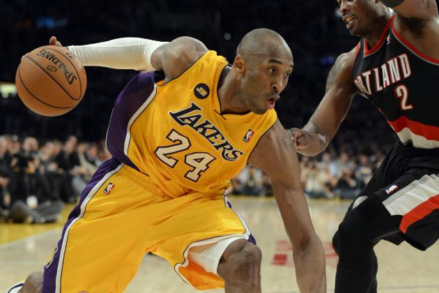 Kobe Is 5th Player in NBA History to Surpass 31,000 Pts