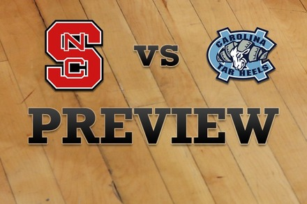 NC State vs. North Carolina: Full Game Preview