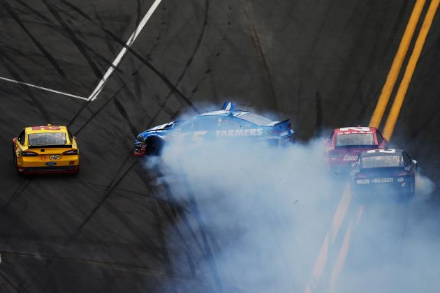 Daytona 500 2013: Crash Derails Kevin Harvick, Tony Stewart and More Top Stars