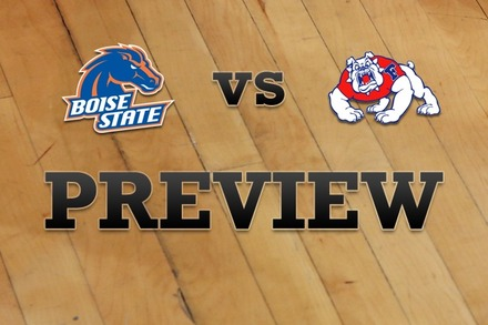 Boise State vs. Fresno State: Full Game Preview