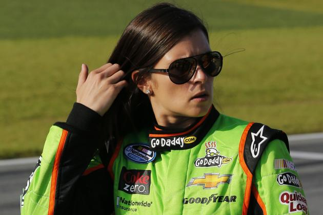 Danica First Woman to Lead Laps at Daytona 500