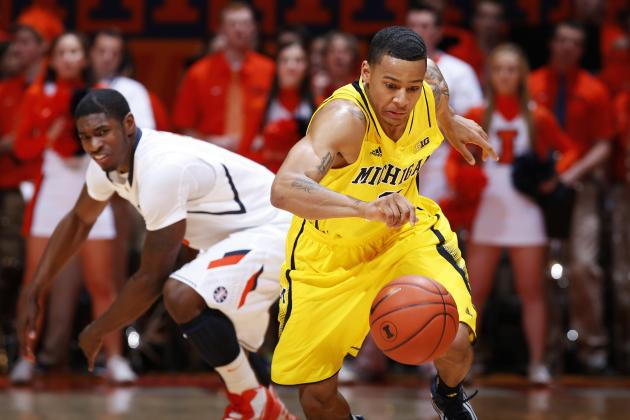 No. 7 Michigan 71, Illinois 58