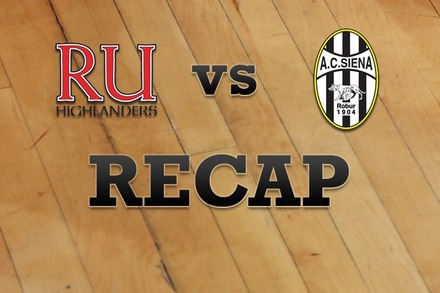 Radford vs. Siena: Recap, Stats, and Box Score