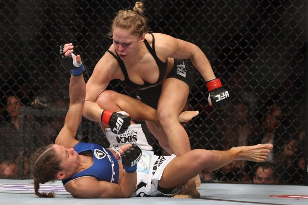 UFC 157: Where Ronda Rousey's Victory Ranks Among Top Women's Sports Milestones