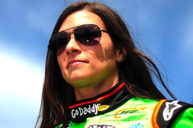 Danica Patrick Becomes First Woman to Lead a Lap in the Daytona 500