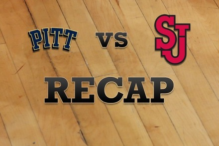 Pittsburgh vs. St John's: Recap, Stats, and Box Score