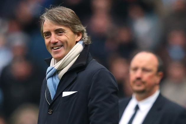 Manchester City's Roberto Mancini Will Not Give Up Title
