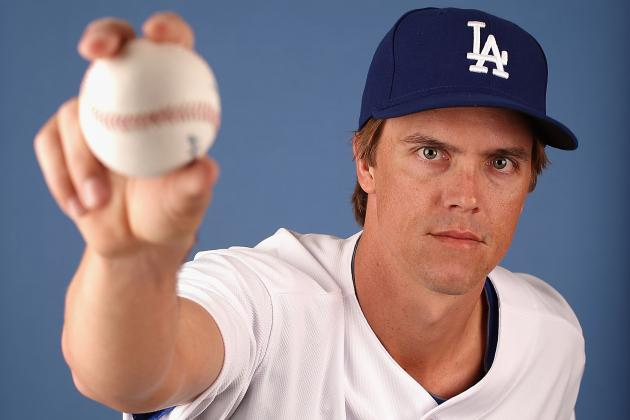 Zack Greinke Tosses 2 Scoreless in Dodgers Debut