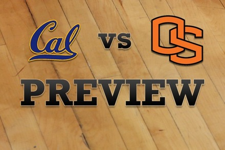 California vs. Oregon State: Full Game Preview
