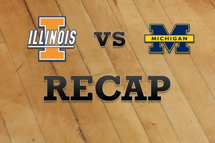 Illinois vs. Michigan: Recap, Stats, and Box Score