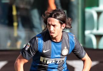 Schelotto scored just three minutes after coming on for Inter.